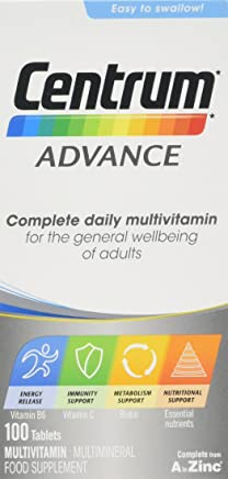 Centrum Advance Multivitamin Tablets, 100-Count