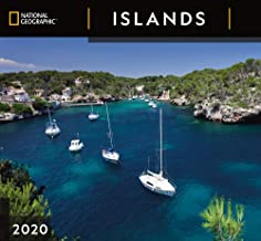 National Geographic Islands 2020 Wall Calendar