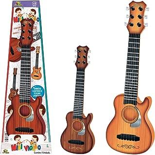 Instrumento Musical Mini Violão, Art Brink, Multicor, 43 cm
