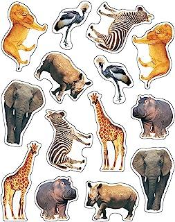 Carson Dellosa Wild Animals of the Serengeti Shape Stickers (168000)