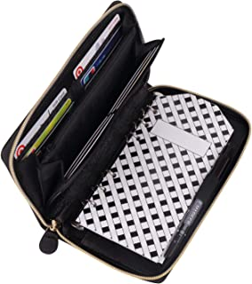 All-in-One Cash Envelopes Wallet with 12 Budget Envelopes & Budget Sheets