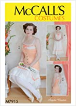 McCall's Patterns M7915 A5 Misses Chemise and Longline Corset by Angela Clayton, Size 6-8-10-12-14
