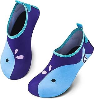 Vingi Kids Water Shoes Toddler Non-Slip Beach Barefoot Aqua Socks Lightweight Quick Dry Swim Shoes for Boys & Girls