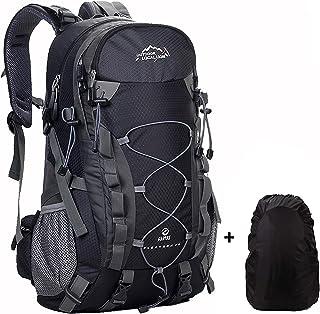 Meisohua 40L Hiking Backpack Outdoor Waterproof Camping Trekking Rucksack Traveling Climbing Backpack Mountaineering Bag w...