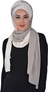 Shawl for Women Chiffon Instant Scarf Modesty Turban Cap Hat Head Wrap