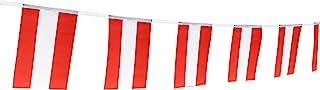 Sponsored Ad - Kind Girl Austria Flag Austrian Flag,100Feet/76Pcs National Country World Pennant Flags Banner,Party Decora...