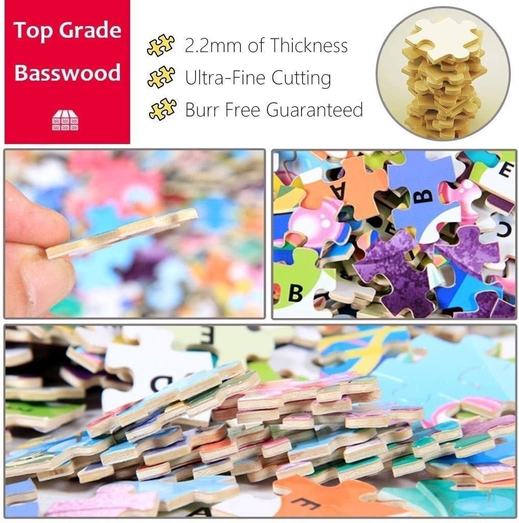 CHENYE 1000 stuks puzzel, Kleurrijke IQ Game Intelligent educatief speelgoed for kinderen volwassen (Color : B) C