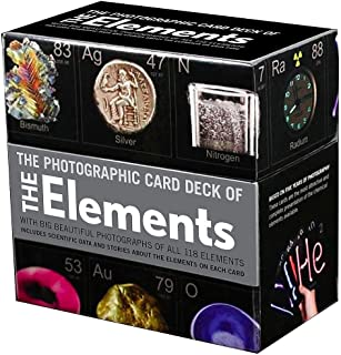 Best The Photographic Card Deck of the Elements: With Big Beautiful Photographs of All 118 Elements in the Periodic Table Review