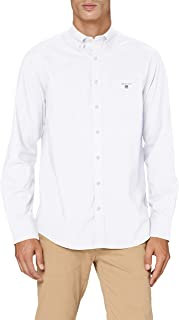 GANT Men's Classic Broadcloth Regular Shirt