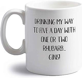 Flox Creative Keramiktasse Five a Day, 295 ml, Rhabarber Gins Both