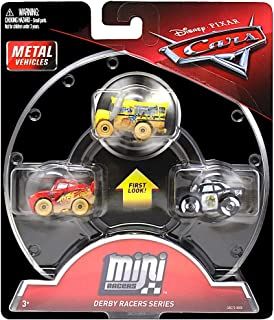 Mini Racers Derby Racers Series Diecast 3-Pack Cars with Miss Fritter