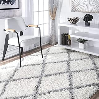 rugs white and grey