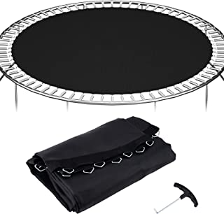 Details about  /12ft// 14ft// 15ft Trampoline Mat Jumping Surface with72//96 V-Rings 5.5//6.5 Spring