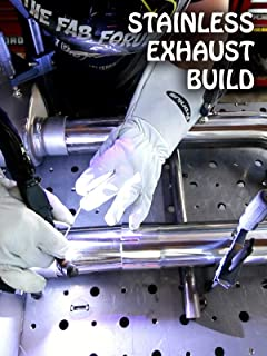Custom Stainless X Pipe Exhaust Build
