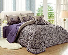 Paisley Comforter Set by Moon- 6 Pieces, King Size,NO.01