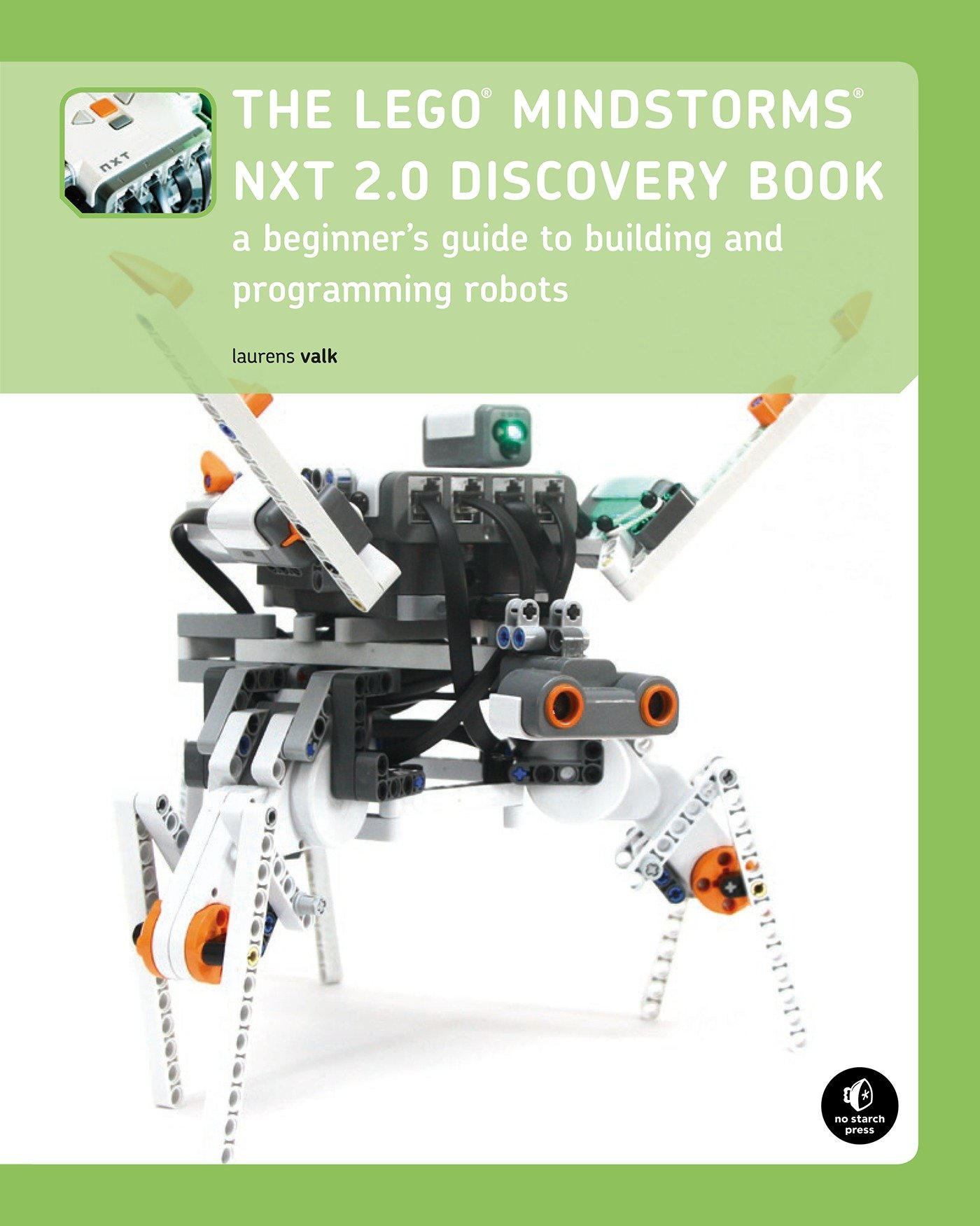 Image OfThe LEGO MINDSTORMS NXT 2.0 Discovery Book: A Beginner's Guide To Building And Programming Robots (English Edition)