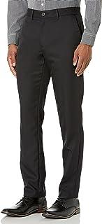 Men's Slim-Fit Flat-Front Dress Pants