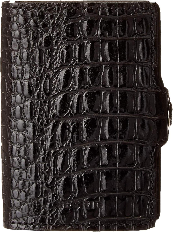 Secrid Twin Wallet Leather Black Nile SC5399