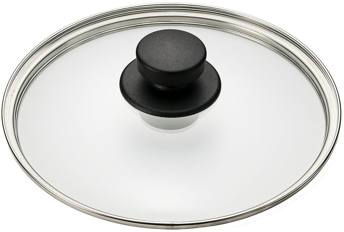 泣き叫ぶ登録する一般的に圧力鍋用ガラス蓋 22cm S2200