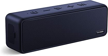 Bluetooth Speakers - Vanzon X5 Pro Portable Wireless Speaker V5.0 with 20W Loud Stereo Sound, TWS, IPX7 Waterproof & 24H Playtime, Suitable for Home, Travel and Outdoors