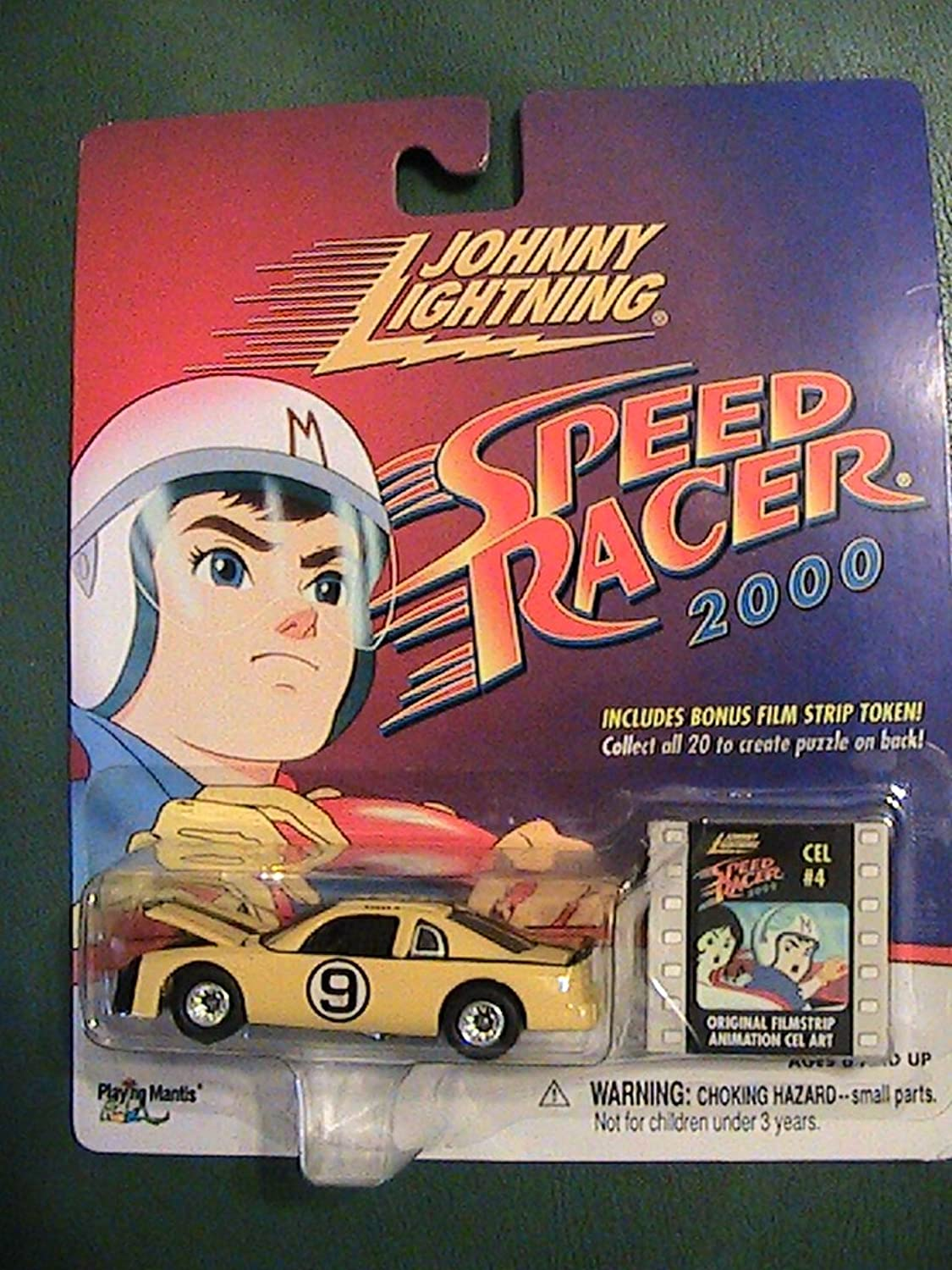 Johnny Lightning Speed Racer 2000 series Speed Racer X with film Strip Cel  4 by Johnny Lightning