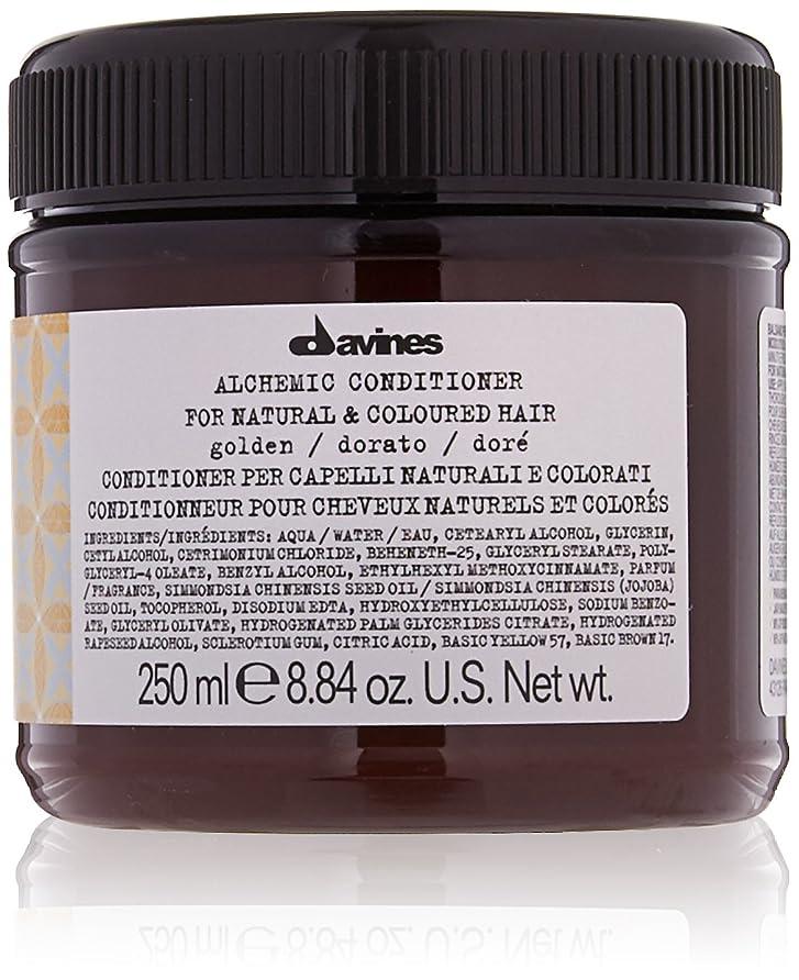 遺棄された三十硬さダヴィネス Alchemic Conditioner - # Golden (For Natural & Coloured Hair) 250ml/8.84oz並行輸入品