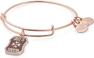 Alex and Ani Womens Words are Powerful Unity is Strength Bangle