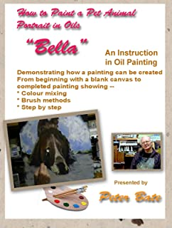 How to Paint a Pet Animal Portrait in oils