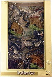 Creative Beast Studio Beasts of The Mesozoic Raptor Series: Black Nestlings 1: 6 Scale Action Figure Set