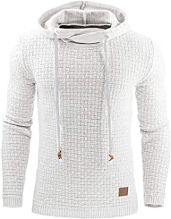 I'll NEVER BE HER Hooded Mens Sweater Autumn Winter 2019 Tracksuit Pullovers Casual Sportswear Homme