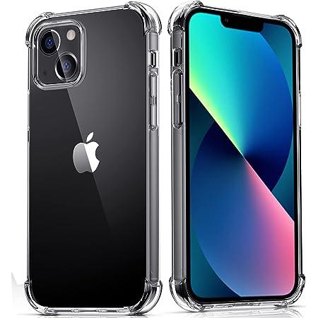 Migeec Coque pour iPhone 13 Transparente Case Protection Anti-Rayures Antichoc Robuste Etui - Claire