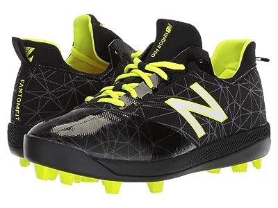 New Balance Kids Lindor Pro Youth Baseball (Little Kid/Big Kid) (Black/Black) Kids Shoes