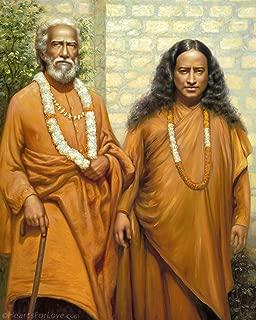 Hearts for Love/Nick Hodgson Paramahansa Yogananda with Swami Yukteswar (16x20)
