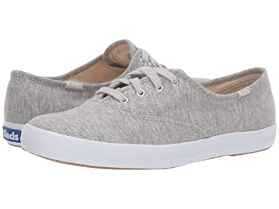 Keds Champion Seasonal Solids (Light Gray Jersey) Women