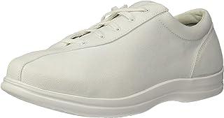 حذاء رياضي من القماش الكتاني للسيدات من Apex، وردي، مقاس 11 M US