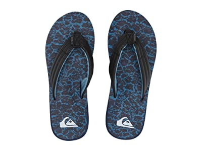 Quiksilver Carver Print (Black/Blue/Blue) Men