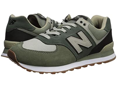 New Balance Classics 574v2-USA (Mineral Green/Black) Men