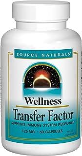 Source Naturals Wellness Transfer Factor 125mg - 60 Capsules