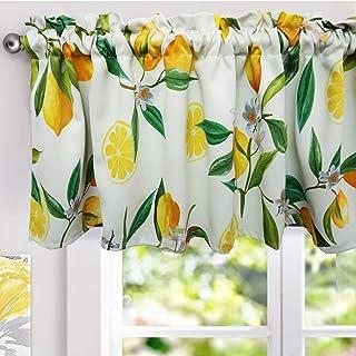 Amazon Com Yellow Valances Curtains Drapes Home Kitchen