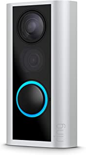 Ring Door View Cam | Video-dörrklocka som ersätter ditt titthål med 1080p HD-video och tvåvägskommunikation. För dörrar me...