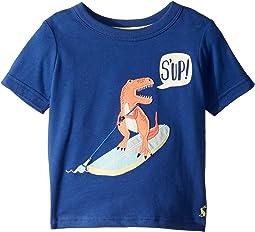 Deep Blue Paddle Dino