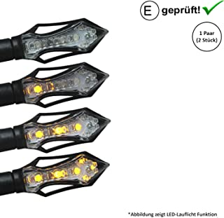 Intermitente LED compatible con motor Hispania RYZ, Pro Racing/XPS, Duna (certificado E / 2 unidades) (B17)