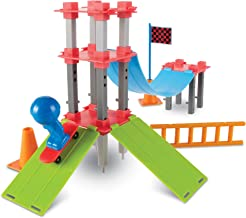 Learning Resources Skate Park Engineering & Design Building Set, 43 Pieces