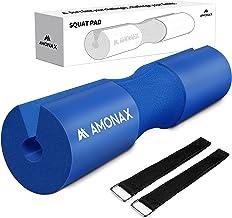 AMONAX Barbell Squat Pad, extra dikke schuimvulling voor nek- en schouderondersteuning, Heavy Duty Gym Fitness Workout Cov...