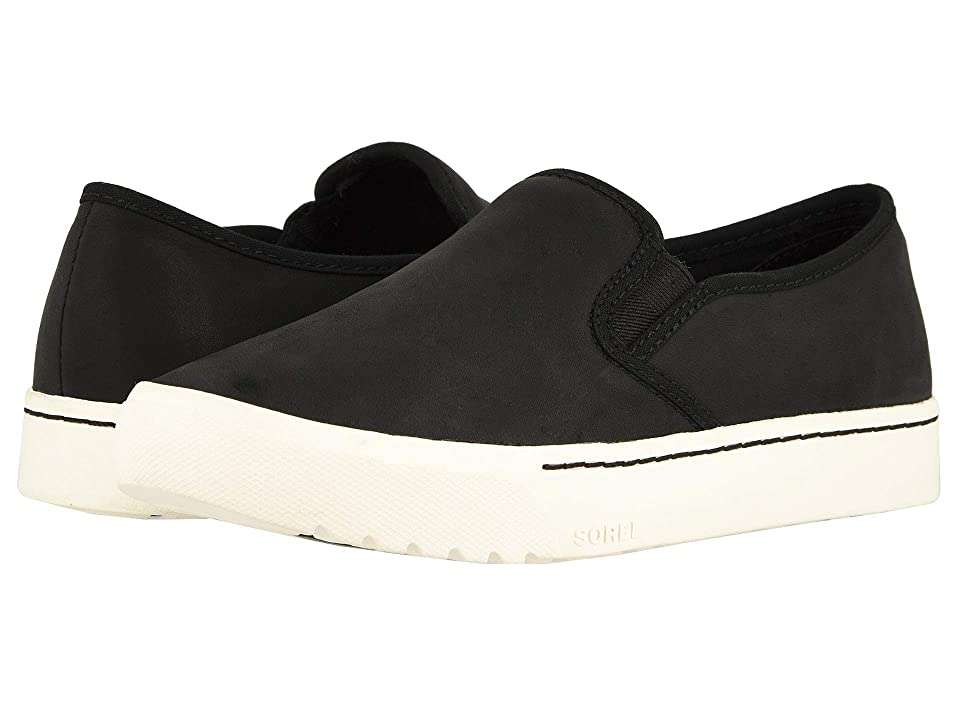 SOREL Campsneaktm Slip (Black Full Grain Leather) Women