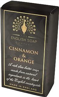 The English Soap Company, Pure Indulgence Cinnamon & Orange, Vegan Shea Butter Soap, 200g
