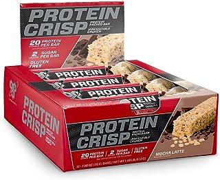 BSN シンサ プロテイン クリスプ モカラテ 12本入り (Syntha-6 Protein Crisp 12 bars)