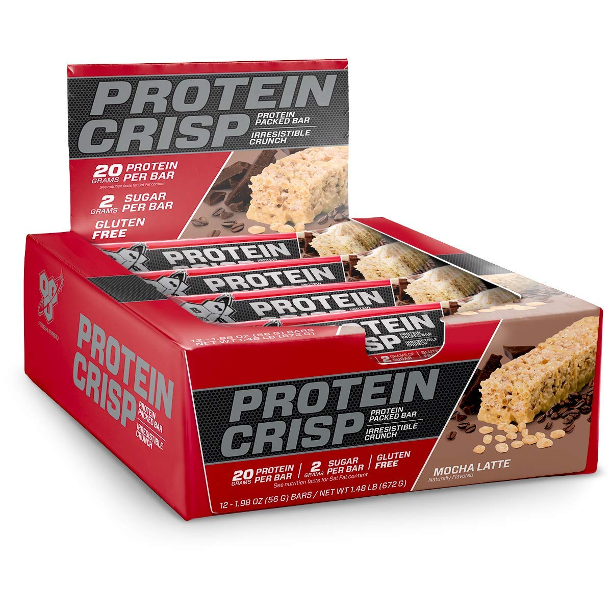 BSN Protein Crisp Syntha 6 Packaging
