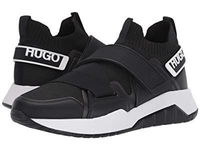 BOSS Hugo Boss Atom Slip-On Sneaker by HUGO (Black) Men