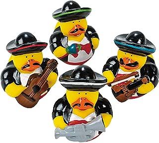 Fun Express 12 Vinyl Mariachi Band Rubber Ducks